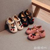 寶寶鞋子女1-3歲防滑軟底單鞋春夏4-6女童粉色公主小皮鞋  ◣歐韓時代◥