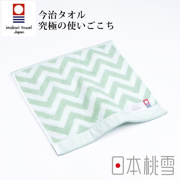 日本桃雪今治北歐方巾(幸福綠) 鈴木太太