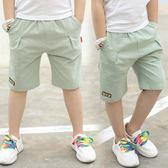 4夏款5男童純棉休閒短褲7兒童褲子8小男孩10夏裝9學生12歲11夏季6 奇思妙想屋