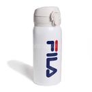 Fila 保溫瓶 Thermos bottle 白 藍 保溫 保冷 #304不鏽鋼 330ml 【PUMP306】 OTT9020WT