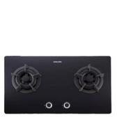 (全省安裝)櫻花雙口檯面爐(與G-2522GB同款)瓦斯爐桶裝瓦斯G-2522GBL