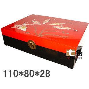 新古典日式漆器 彩繪儲物大地櫃