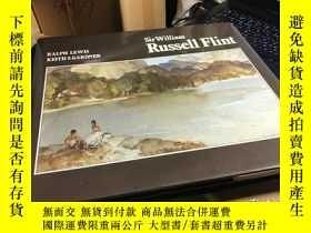 二手書博民逛書店經典畫冊罕見1980年 Sir William Russell Flint (1880-1969)弗林特爵士 畫集