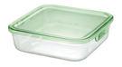 日本知名品牌 iwaki 1200ml 玻璃 時尚 保鮮盒-KT3248N-G