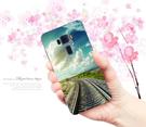 華碩 asus ZenFone3 ZE552KL Z012DA 手機殼 硬殼 外殼 鐵道旅遊