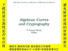 二手書博民逛書店Algebraic罕見Curves and Cryptograp