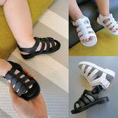 辰辰媽男女寶寶涼鞋嬰兒軟底防滑學步鞋果凍鞋羅馬涼鞋魔術貼童鞋