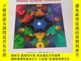 二手書博民逛書店Mathematics罕見Methods for Elementary and Middle School Tea