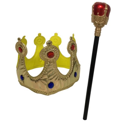 國王皇冠+權杖【愛買】