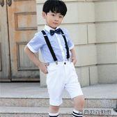 好康618 兒童演出服裝男童鋼琴表演套裝