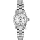 【台南 時代鐘錶 ROSDENTON】勞斯丹頓 珍藏39週年紀念 真鑽時尚腕錶 6022MD-5 銀 25mm