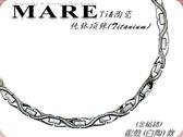 【MARE-純鈦+陶瓷項鍊】系列:龍盤 (白陶) 款