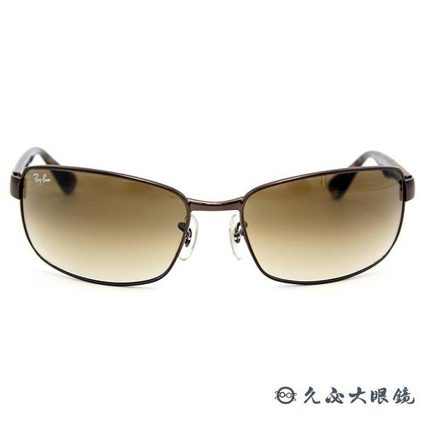 RayBan墨鏡 經典太陽眼鏡 RB3478 01451 棕-玳瑁 久必大眼鏡