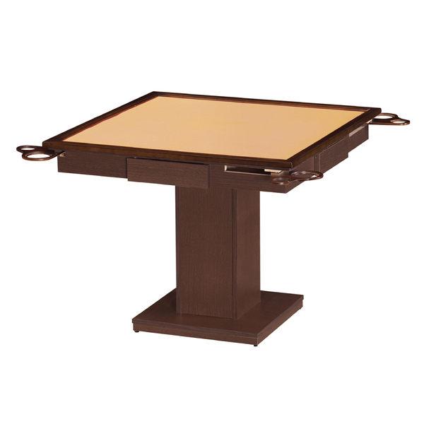 【采桔家居】羅森 時尚3.1尺胡桃木紋麻將桌(不含椅&不含麻將紙)