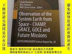 二手書博民逛書店Observation罕見of the System Earth