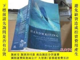 二手書博民逛書店罕見HANDWRITING9740 出版2003