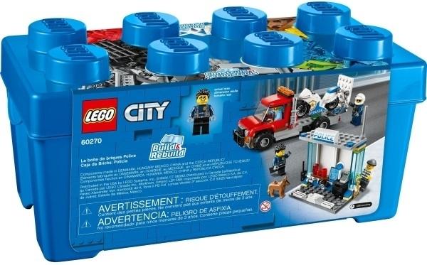 【LEGO樂高】CITY 警察顆粒盒 #60270