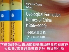 簡體書-十日到貨 R3YY【Geological Formation Names of China(1866-2000)(Vol...