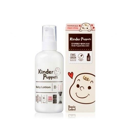 韓國 Kinder Puppets 嬰兒潤膚乳液200ml