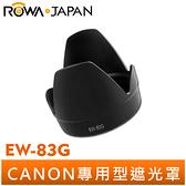 【ROWA 樂華】CANON EW-83G 遮光罩 EF 28-300mm f/3.5-5.6L IS USM 適用