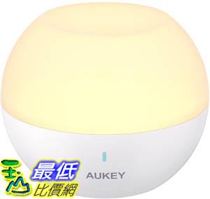[9美國直購] AUKEY 小夜燈 Baby Night Light for Kids, Rechargeable Bedside Lamp with RGB Colo