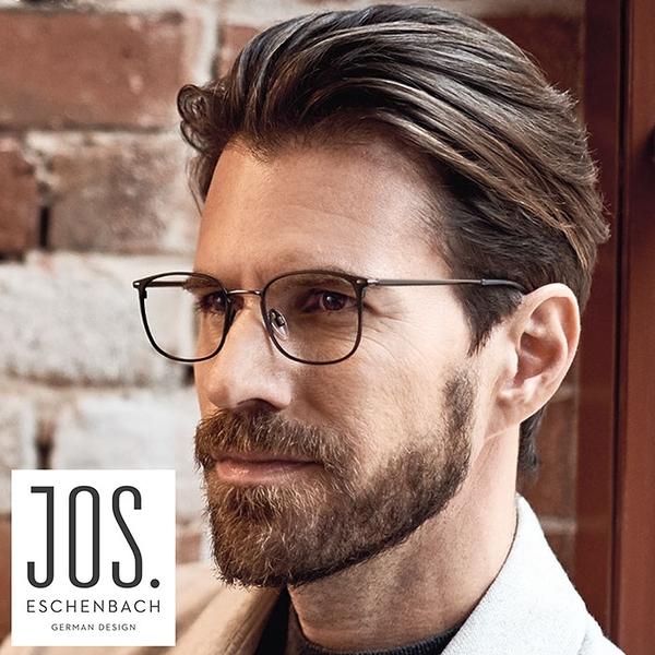 【Jos. Eschenbach】喬瑟艾森巴赫 德國經典都會純鈦眼鏡 981036