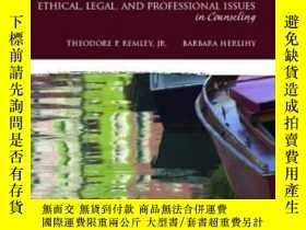 二手書博民逛書店Ethical罕見Legal And Professional Issues In Counseling (3rd