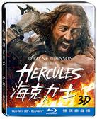 (特價) 海克力士3D附2D 雙碟鐵盒版  藍光BD   (音樂影片購)