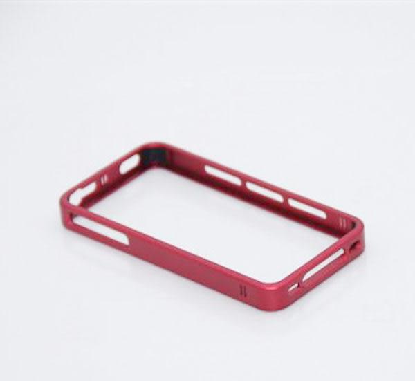 APPLE iPhone4/4s Vipower 免鏍絲 高品質鋁製框 (紅/綠/金/粉/紫/藍/橘 )~最後出清