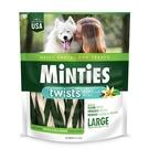 【美國原裝進口】MiNTiES猛特斯│白綠雙效低脂潔牙骨L-24oz (28入)