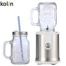 Kolin歌林 隨鮮瓶玻璃杯果汁機(雙杯組) JE-LNP16(全新福利品)