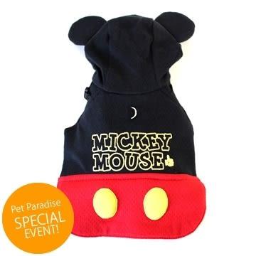 【PET PARADISE 寵物精品】Disney Mickey 米奇胸背衣 (SM) 狗衣服 寵物用品 寵物衣服 狗狗胸背《SALE》
