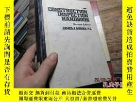 二手書博民逛書店construction罕見inspection handboo