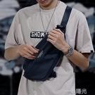 男士胸包2020新款時尚休閒男包單肩斜背包/側背包包斜跨小包男背包 一米陽光