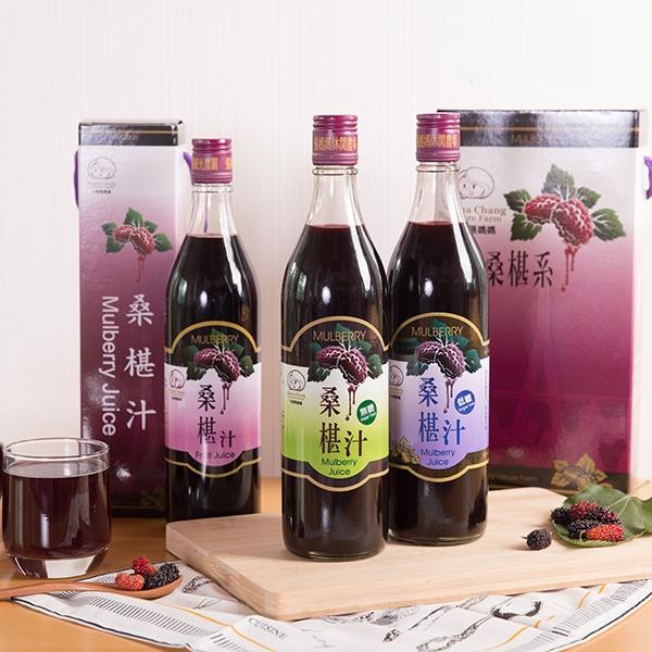 大樹張媽媽 桑椹汁(有糖/無糖)-600cc/瓶