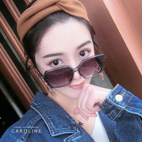 《Caroline》韓系質感熱門款網紅潮流個性偏光太陽眼鏡71751