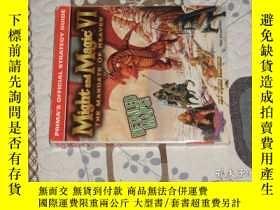 二手書博民逛書店魔法門6罕見天堂之令 國外原版攻略 電腦遊戲Y281338 其它