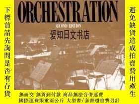二手書博民逛書店【罕見】The Study Of Orchestration 1