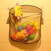 雙12狂歡購 浴室洗澡玩具卡通掛袋網狀瀝水透氣多用收納掛袋戲水玩具袋子