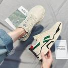 增高鞋 男鞋冬季新款運動休閒跑步鞋韓版潮流百搭增高保暖潮棉鞋 韓國時尚週