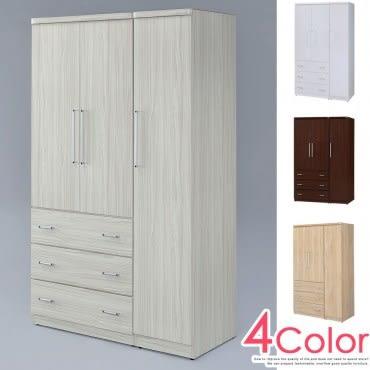 【Homelike】 愛娜4x7衣櫃(雪松色)