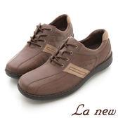 【La new outlet】雙密度PU氣墊鞋(男217015424)