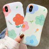 蘋果 iPhone XS MAX XR iPhoneX i8 Plus i7 Plus 日系小花 手機殼 防摔 全包邊 軟殼 保護殼