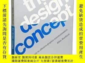 二手書博民逛書店The罕見Design Concept-設計理念Y436638 Allen Hurlburt Watson-g
