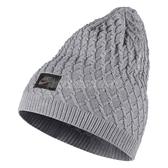 Nike 毛帽 Cable-Knit Hat 灰 黑 小LOGO 男女款 帽子 【PUMP306】 717118-012