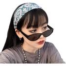 髮帶 瑜伽吸汗運動束發帶捆復古網紅百搭韓國外出簡約腰果寬邊頭飾頭箍 夢藝家