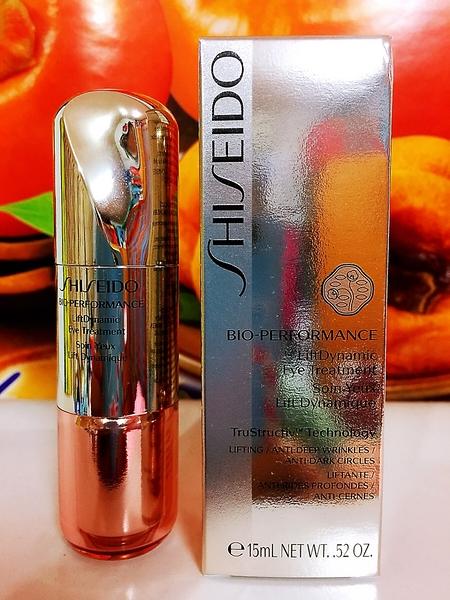 SHISEIDO 資生堂 Bio-Performance 百優全緊緻立體眼霜 15ml 全新百貨公司專櫃正貨盒裝
