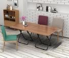 現貨 餐桌索樂折疊桌簡易小方桌家用折疊餐...