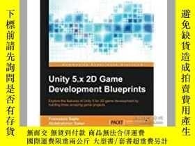 二手書博民逛書店Unity罕見5.x 2D Game Development B