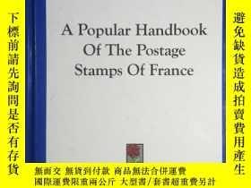 二手書博民逛書店A罕見Popular Handbook of the Posta